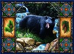 Bear Lodge Place Mats - Set of 4