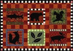 Adirondack Lodge Placemat - Set of 4