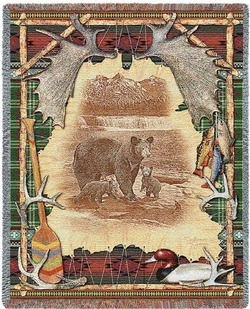 Antler Lodge Tapestry