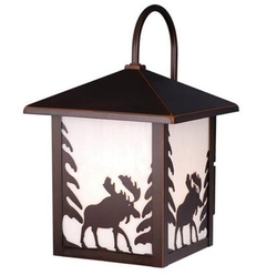 Yellowstone Moose Outdoor Wall Light