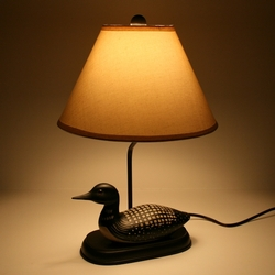 Loon Decoy Lamp
