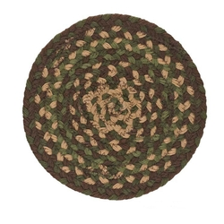 Woodbine Braided Trivet/Potholder 8