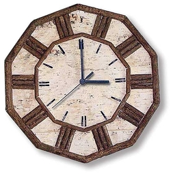 Birch and Twig Wall Clock - 12