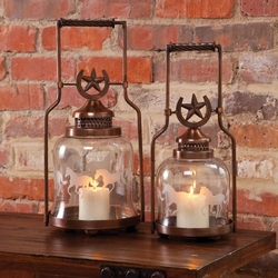 Galloping Horse Lantern - Set of 2