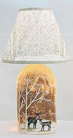 Woodland Accent Light with Shade