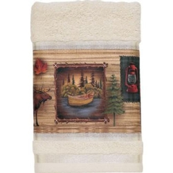 Camping Trip Bath and Hand Towel Set