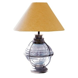 Nautical Onion Table Lamp - Zinc Blue
