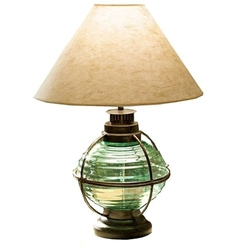 Nautical Onion Table Lamp - Verde Green
