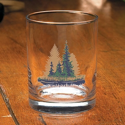 Misty Forest Old Fashion - Set of 4