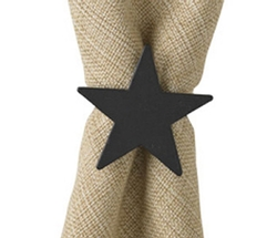 Star Napkin Ring - Set of 2