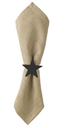 Star Napkin Ring - Set of 2