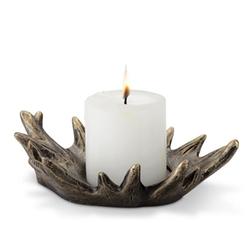 Antler Pillar Candleholder