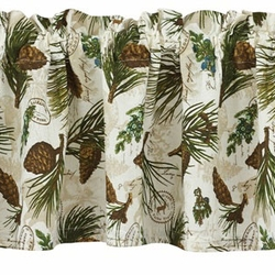 Walk in the Woods Valance 72