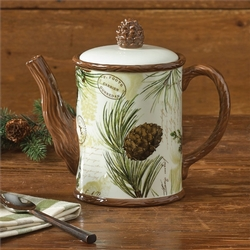 Walk in the Woods Tea Pot
