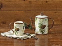 Walk in the Woods Tea Pot