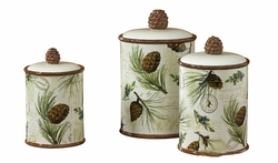 Walk in the Woods Canister Set