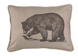 Walking Bear Pillow - 16