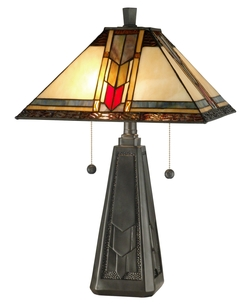 Craftsman/Mission Mallison Table Lamp - Dale Tiffany