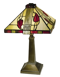 Craftsman/Mission Henderson Accent Lamp - Dale Tiffany