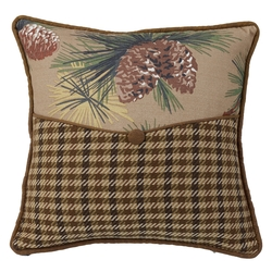 Crestwood Pinecone Envelope Pillow