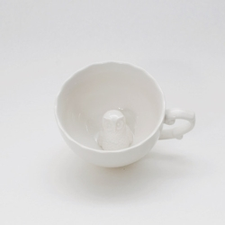 Hidden Owl Teacup