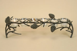 Pinecone Votive Bridge - 6 lights