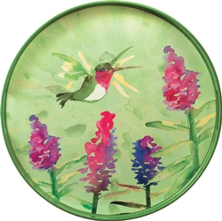 Hummingbird Round Tray - 18
