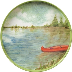 Summer Lake Round Tray - 18