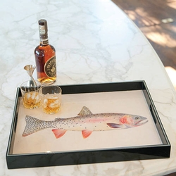 Trout Rectangular Tray
