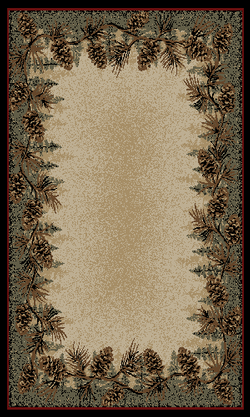 Mt. LeConte Pinecone Rug Series