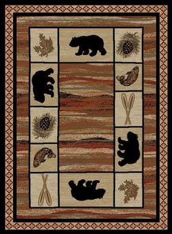 Vogel Bear Rug Series