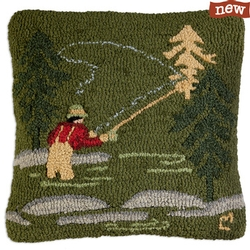 Fly Fisherman Pillow