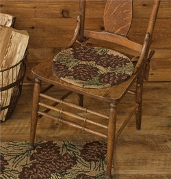 Walk In The Woods Chair Pad   Set Of 2