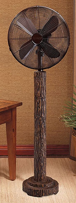 Fir Bark Floor Fan - 16