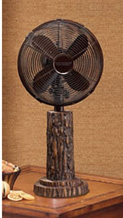 Fir Bark Table Fan - 10