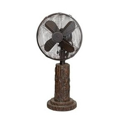 Fir Bark Table Fan - 10