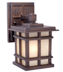 Outdoor fan cabin outdoor lighting rustic post lights lodge manor house 5 aloadofball Choice Image