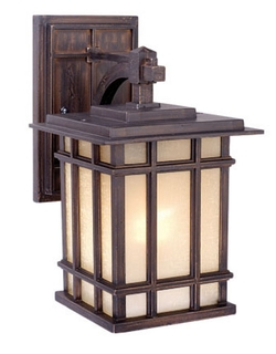 Manor House 7  Outdoor Wall Light   Architectural BronzeOutdoor Fan   Cabin Outdoor Lighting   Rustic Post Lights   Lodge  . Manor House Outdoor Lighting. Home Design Ideas