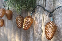 Woodland Pinecone String Lights