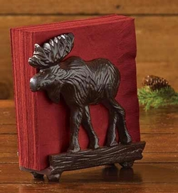 Moose Napkin / Letter Holder