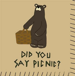 Did You Say Picnic Paper Cocktail Napkins