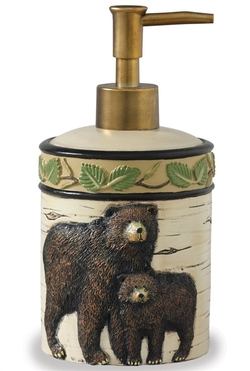 Black Bear Soap/Lotion Dispenser