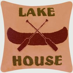 Lake House Tuft Pillow - 18