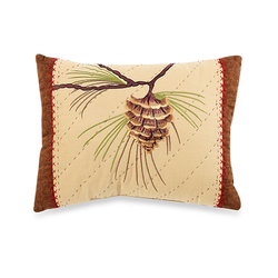 Wilderness Lodge Pinecone Pillow - 12