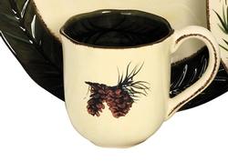 Pinecone Mug - Set of 4