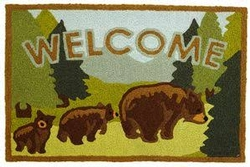 Welcome Bears Rug - 21