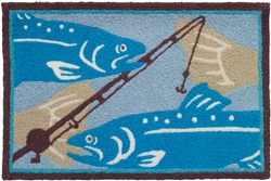 Fisherman's Pursuit Rug - 21