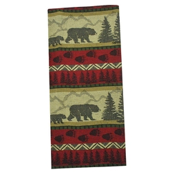Bear Country Jacquard Dish Towel
