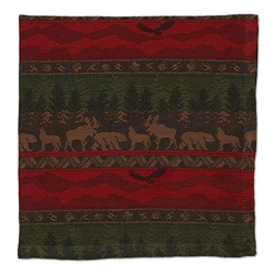 Wilderness Stripe Jacquard Napkins - Set of 2