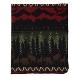 Wilderness Stripe Throw